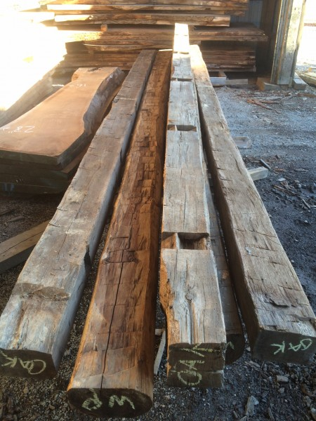 Reclaimed Barn Beams